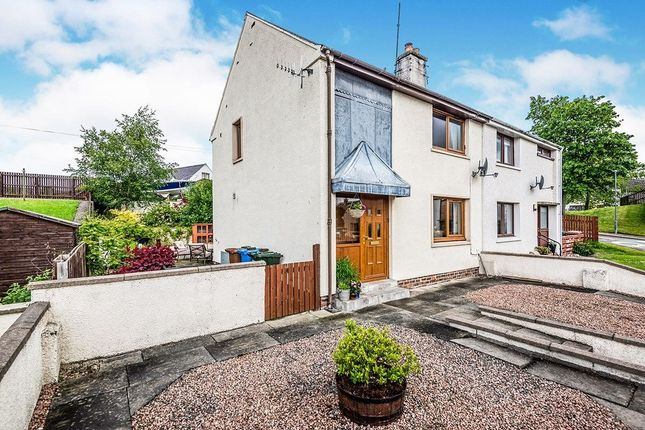 Thumbnail 2 bed semi-detached house for sale in Highfield Circle, Muir Of Ord