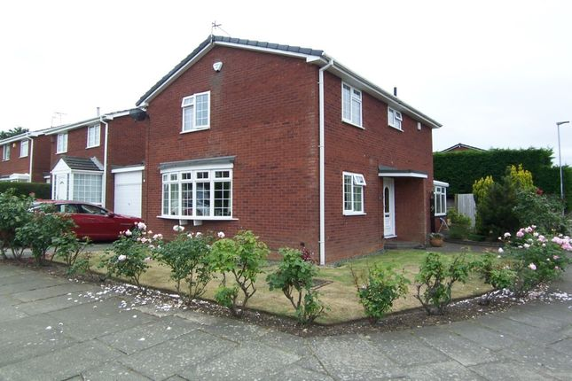 Thumbnail Detached house for sale in Chipchase Court, New Hartley, Whitley Bay