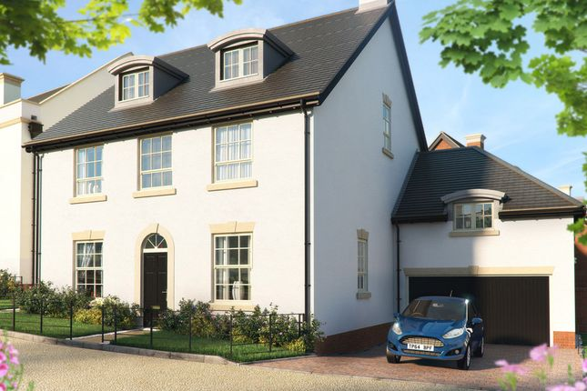 "Thumbnail Detached house for sale in ""The Elliot "" at Pitt Road, Winchester"