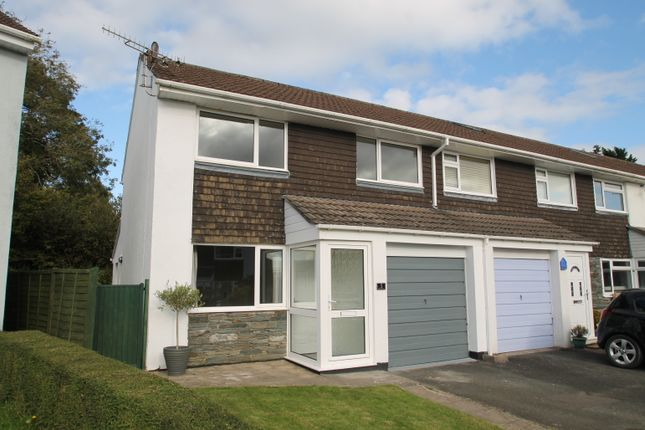 Thumbnail End terrace house for sale in Bishops Mead, South Brent
