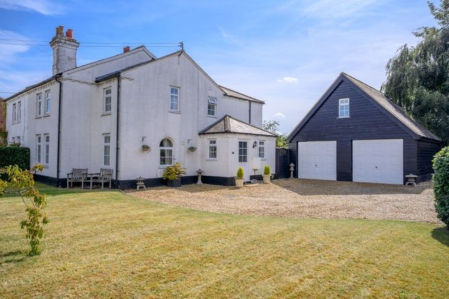 Semi-detached house for sale in High Street, Tittleshall, King's Lynn