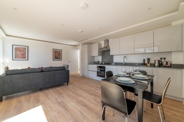 Kitchen Area of Lurke Street, Bedford MK40