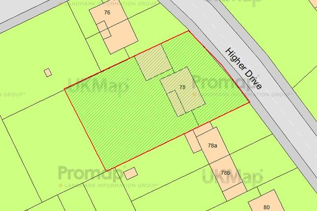 Thumbnail Land for sale in Higher Drive, Purley