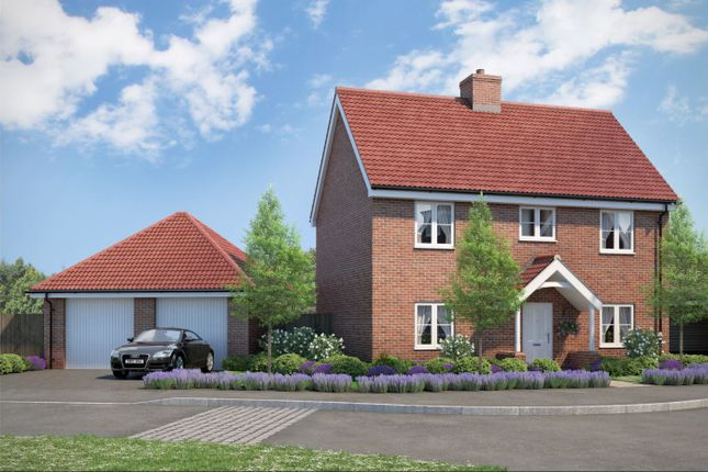 Thumbnail Detached house for sale in The Goldcrest, Beaulieu Heath, Regiment Gate, Regiment Way, Chelmsford, Essex