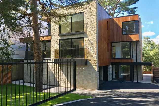 Thumbnail Detached house for sale in Canford Cliffs Road, Poole, Canford Cliffs
