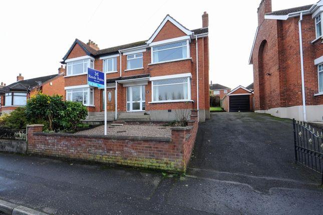 Thumbnail Semi-detached house for sale in Roddens Park, Belfast