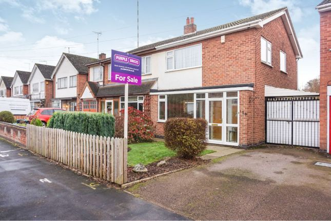Thumbnail Semi-detached house for sale in Westover Road, Leicester