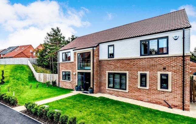 Thumbnail Detached house for sale in Hebden Court, Teal Farm, Washington, Tyne And Wear
