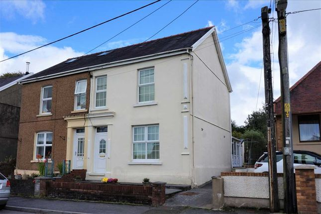 Thumbnail Semi-detached house for sale in Heol Treventy, Cefneithin, Llanelli