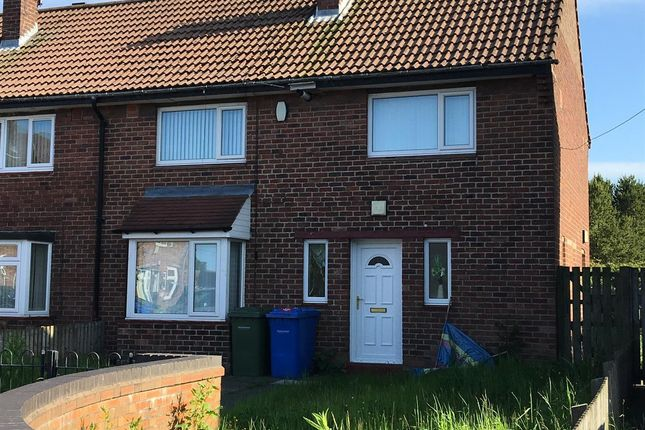 Thumbnail Semi-detached house to rent in Hallside Road, Blyth