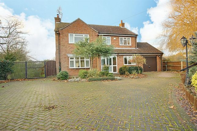 4 bed detached house for sale in Church Road, Great Stukeley, Huntingdon