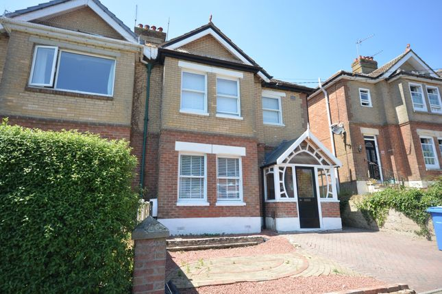 Thumbnail Semi-detached house for sale in Northbrook Road, Broadstone