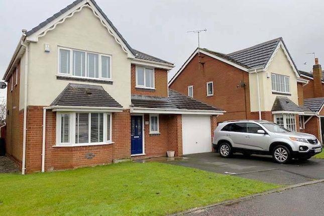 Thumbnail Detached house for sale in Primrose Way, Poulton-Le-Fylde