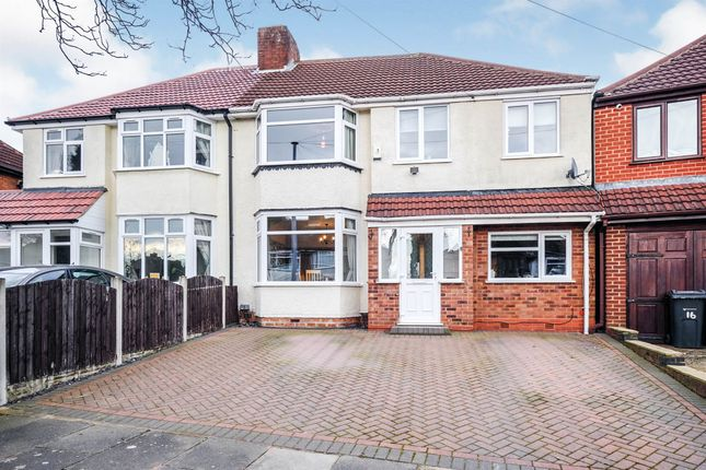 Semi-detached house for sale in Beacon Road, Kingstanding, Birmingham
