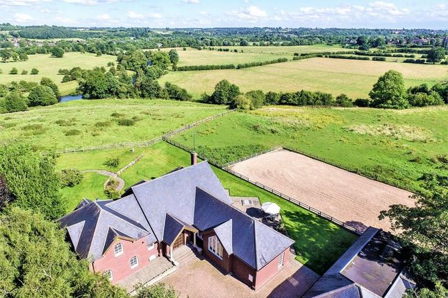 Thumbnail Detached house for sale in Burley Hill, Allestree, Derby