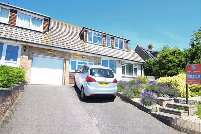Thumbnail Semi-detached bungalow for sale in Churchward Avenue, Weymouth, Dorset