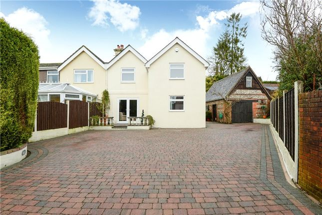 Thumbnail Semi-detached house for sale in Salisbury Road, Pimperne, Blandford Forum, Dorset