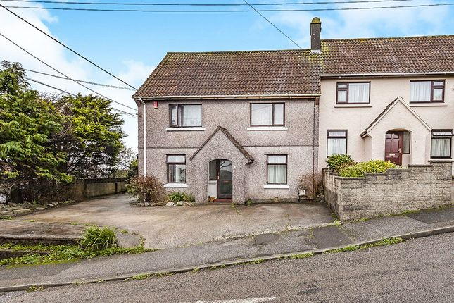 Thumbnail Semi-detached house for sale in Beacon Fields, Camborne