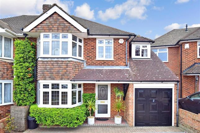 Thumbnail Semi-detached house for sale in Elmstone Road, Rainham, Gillingham, Kent