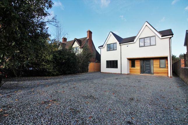 Thumbnail Detached house for sale in Rouncil Lane, Kenilworth
