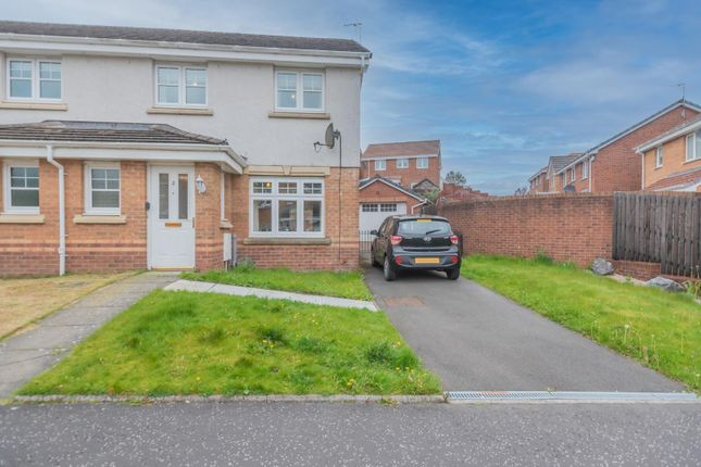 3 bed semi-detached house for sale in Kidlaw Crescent, Tullibody, Alloa FK10