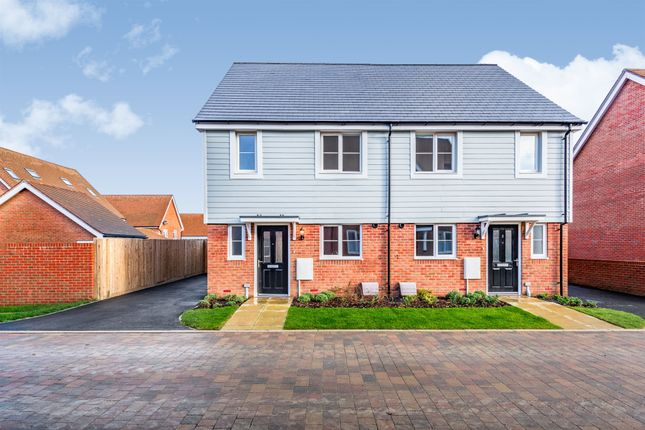 Thumbnail Semi-detached house for sale in Kilnwood Vale, Faygate, Horsham