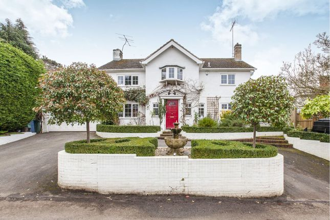 Thumbnail Detached house for sale in Abbey Road, Bourne End