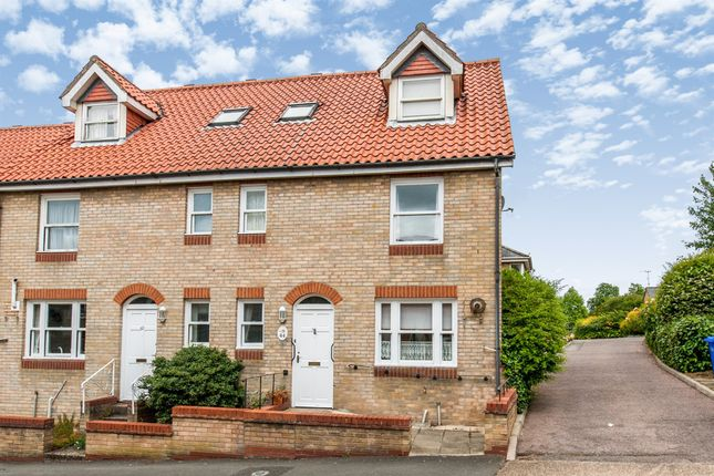 Thumbnail End terrace house for sale in Garland Street, Bury St. Edmunds
