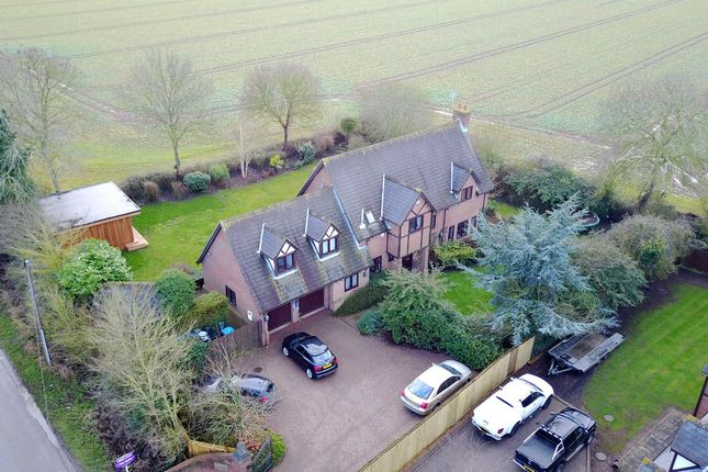 Thumbnail Detached house for sale in Galley Lane, Great Brickhill