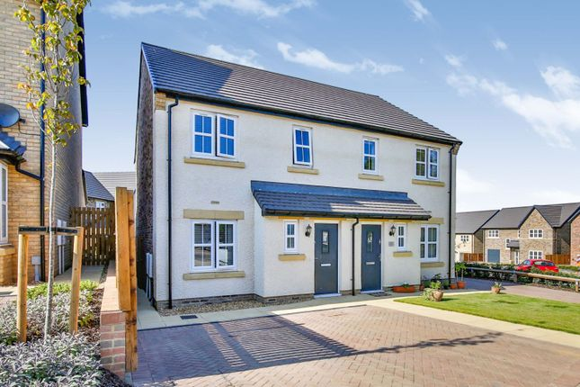 Thumbnail Semi-detached house for sale in Caley Rise, Pity Me, Durham