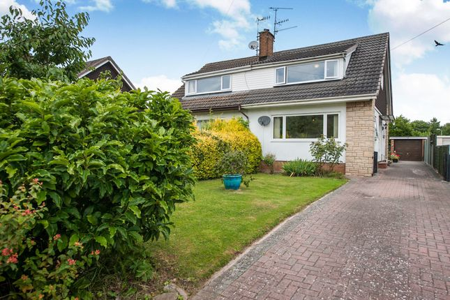 Thumbnail Semi-detached house for sale in Fitzroy Close, Monmouth