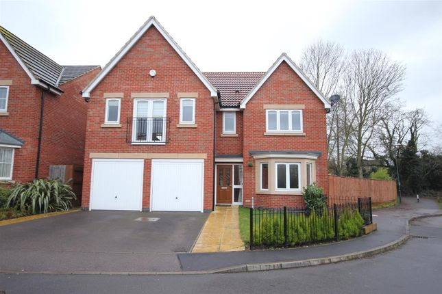 Thumbnail Detached house for sale in Girton Way, Mickleover, Derby