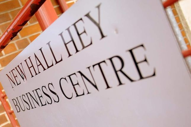 Thumbnail Office to let in New Hall Hey Business Centre, Rossendale
