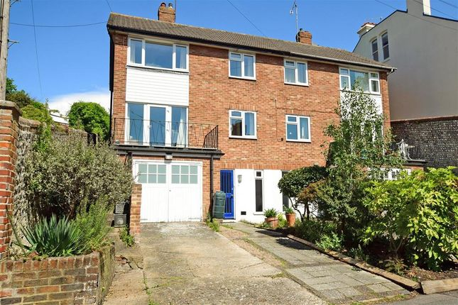 Thumbnail Semi-detached house for sale in Grange Road, Lewes, East Sussex