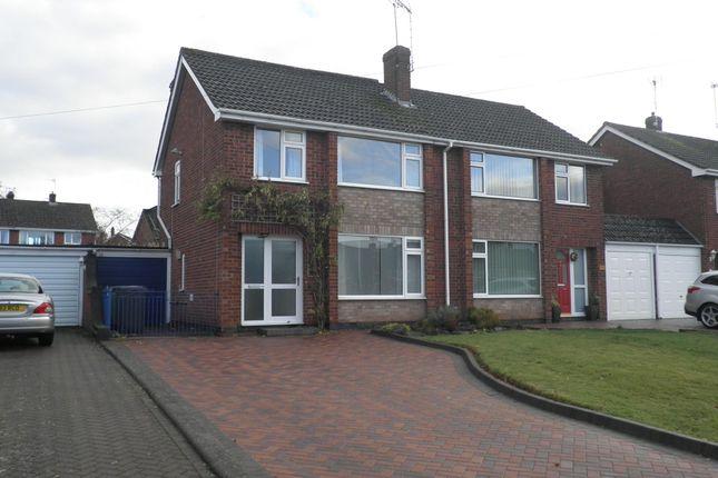 Thumbnail Semi-detached house to rent in Clinton Lane, Kenilworth
