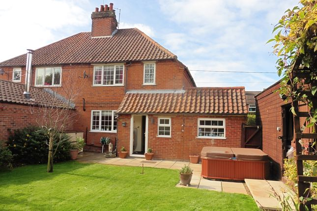Thumbnail Semi-detached house for sale in Greenway Close, Fakenham