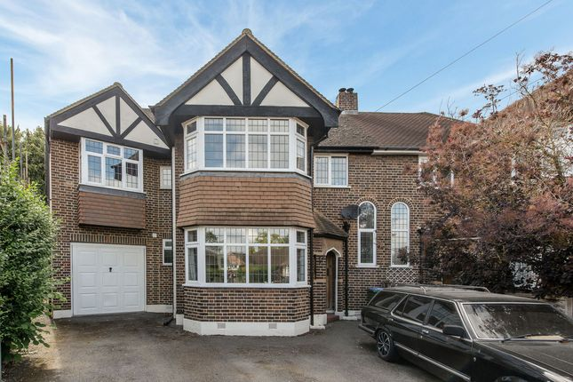 Thumbnail Semi-detached house for sale in Greenwood Close, Thames Ditton