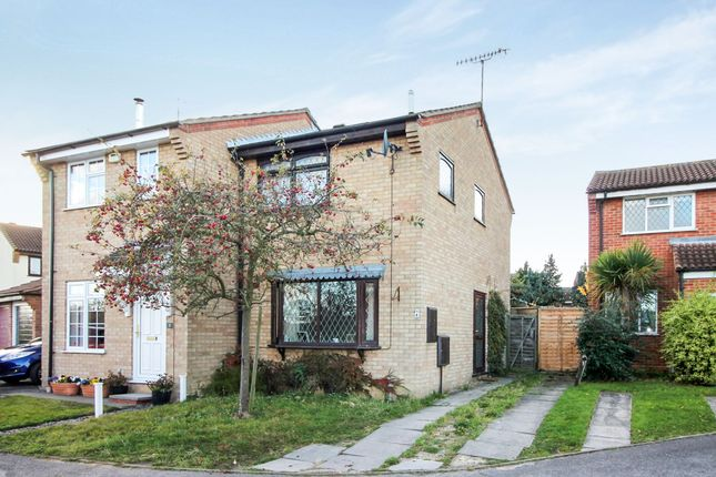 Thumbnail Semi-detached house for sale in Siskin Close, Colchester