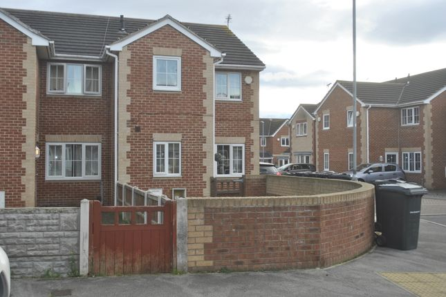 Thumbnail End terrace house for sale in Oakdale, Worsbrough, Barnsley, South Yorkshire
