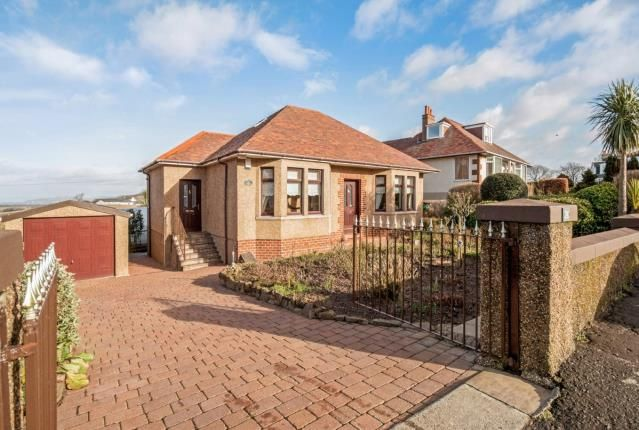 Thumbnail Detached house for sale in Portencross Road, West Kilbride, North Ayrshire, Scotland