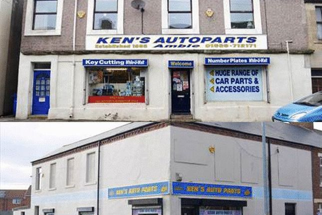 Thumbnail Commercial property for sale in Ken's Auto Parts, Amble & Blyth, Northumberland