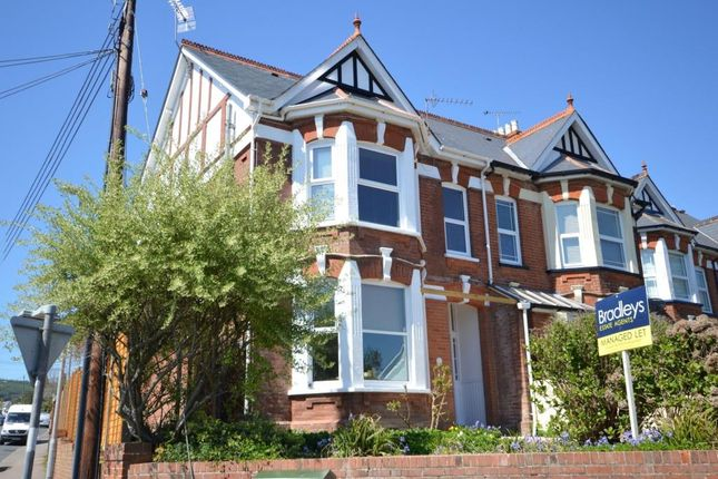 Thumbnail Flat to rent in Arcot Road, Sidmouth, Devon