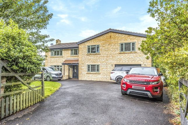Thumbnail Detached house to rent in Church Road, Wanborough, Wiltshire