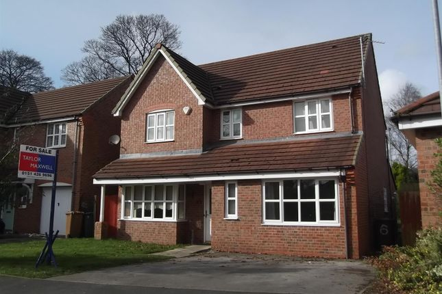 Thumbnail Detached house for sale in Bexhill Gardens, Nutgrove, St Helens