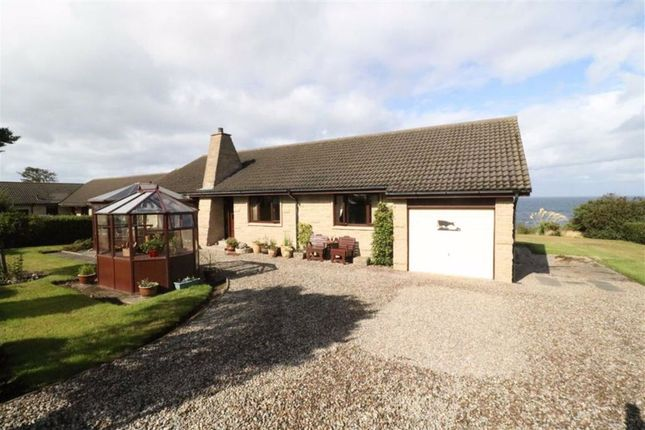 Thumbnail Detached bungalow for sale in Seaview Road, Cummingston, Moray