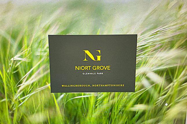 4 bed terraced house for sale in Niort Grove, Off Niort Way Glenvale Park, Wellingborough NN8