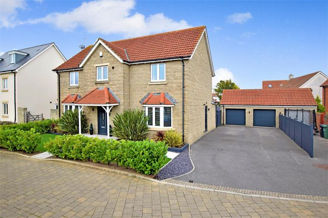 Thumbnail Detached house for sale in Sorrel Gardens, Portishead, Bristol