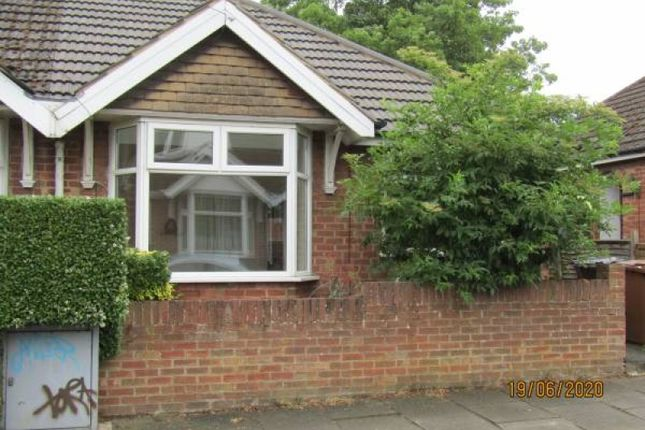Thumbnail Bungalow to rent in Yelvertoft Road, Kingsthorpe, Northampton