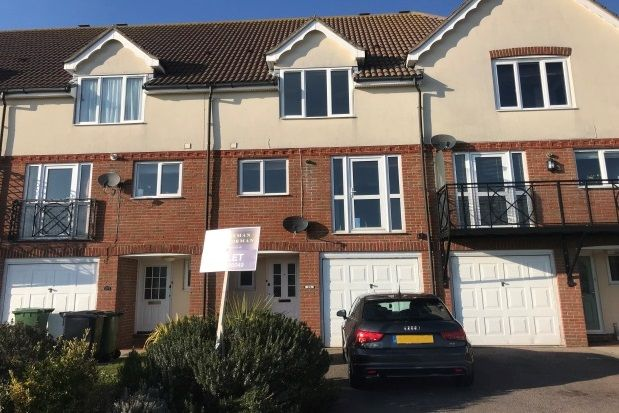 Thumbnail Town house to rent in Hobart Quay, Eastbourne