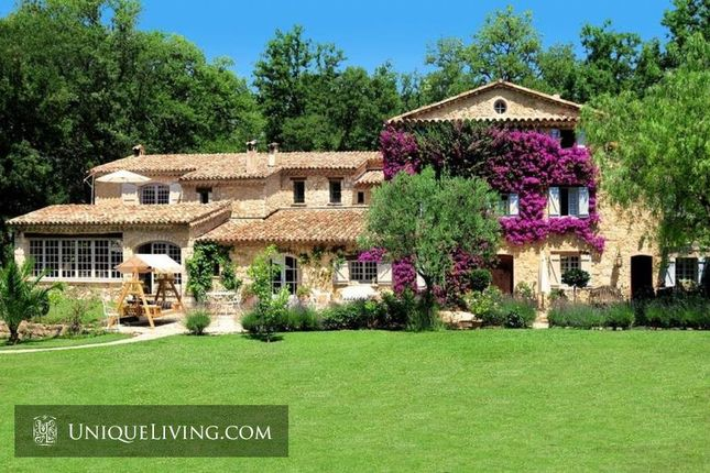 Thumbnail Villa for sale in Plascassier, Grasse, French Riviera